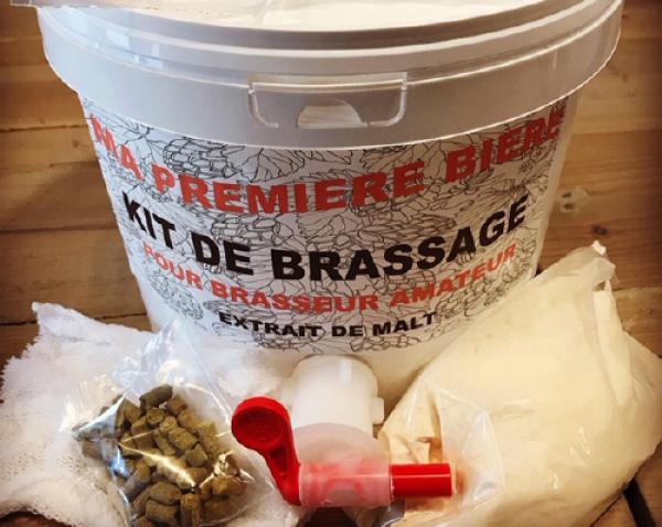 Kit de brassage extrait de malt